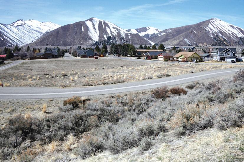 Landscape shot of Keefer Park mountains and road