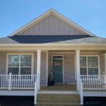 Completed modular home for Quartz Properties